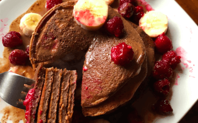 Recipe: Chocolate Protein Pancakes / Inc Savoury Option